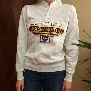 VTG Vintage UW Huskies Sweatshirt